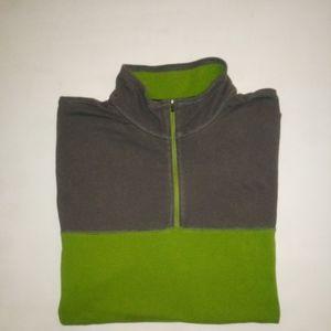 Eddie Bauer half zip travex jacket